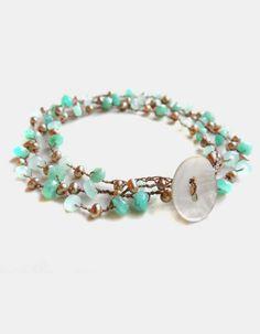 Montego Wrap Bracelet/Necklace with Amazonite