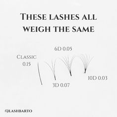 same weight for different thickness , which one you like ? Volume Lash Extensions, Mink Eyelash Extensions, Tech Quotes, Eyelash Extension Supplies, Salon Quotes, Lashes Logo, Best Lashes, Volume Lashes, Natural Lashes
