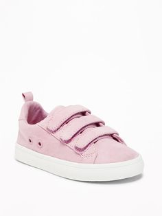 61f22d713ccbac Sueded Triple-Strap Sneakers for Toddler Girls Toddler Girl Style