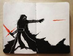 One of the coolest moments in the movie (Yes, I made it red because my blue pen is not bright enough)