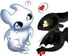 Light Fury and night Fury httyd 3 Light Fury und Night Fury httyd 3 Source by . Cute Toothless, Toothless Drawing, Toothless And Stitch, Toothless Tattoo, Cartoon Wallpaper, Disney Wallpaper, Cute Kawaii Drawings, Cute Animal Drawings, How To Train Dragon