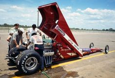 Don the snake Prudhomme wedge dragster