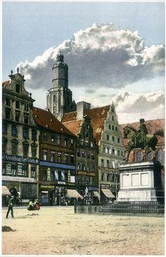 Zdjęcie numer 6 w galerii - Wrocław sprzed stu lat na pocztówkach Maxa Leipelta. Wiele z tych miejsc już nie istnieje [FOTO]