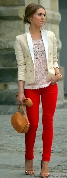 Need these red pants