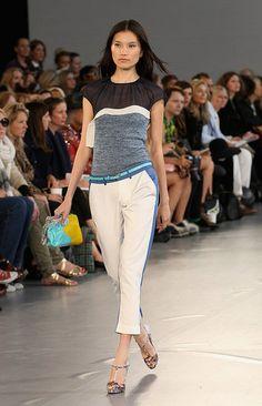 Michael van der Ham Spring 2012 via Fashionologie