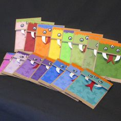 Monster Party Invitations - Little Monster Birthday
