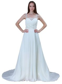 ImPrincess Wedding Dress Vintage Style NO.ip4-6029...