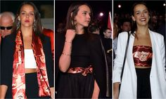 Princess Grace's granddaughter shows us three ways to rock a scarf (plus more royal style of the week!)