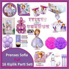 Sofia Full  Parti Seti (16 Kişilik)