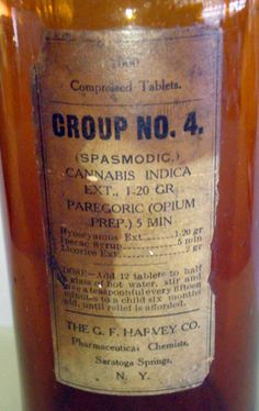 The G.F. Harvey Company Group 4. Cannabis Indica and Opium