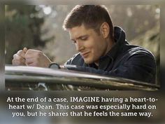 Supernatural Imagines, Supernatural Tv Show, Mental Health Crisis, Love Puns, Me Tv, Dean Winchester, Superwholock, Let It Be, Fan Fiction