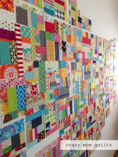 I am working on anotherscrap vortex quilt . You know, because I need two quilts that nearly cover my house completely...one justwon't do...