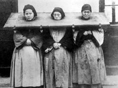 Women convicted of witchcraft - if you think this is just creepy old history, think again. Vintage Pictures, Old Pictures, Old Photos, London Pictures, Women In History, World History, Family History, Interesting History, The Witcher
