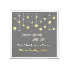 Twinkle Twinkle Little Star Baby Shower Supplies