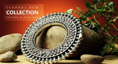 Snap up from best collection of Indian jewellery online. Add value to your attire and jewellery box. Wedding Jewelry, Jewelry Box, Silver Jewelry, Indian Jewellery Online, Indian Jewelry, Silver Anklets Online, Sterling Necklaces, Vintage Designs, Antique Silver