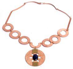 Joyería / Cobre / Collares - Bluestone - Joyas, artesanías, decoración y regalos en lapislázuli, oro, plata y cobre. Copper Bracelet, Copper Jewelry, Gold Necklace, Bracelets, Necklaces, Womens Fashion, Inspiration, Jewellery, Diy