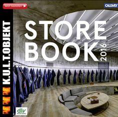 """UND K.U.L.T.OBJEKT IST WIEDER DABEI!  """"Das STORE BOOK ist das ultimative Jahrbuch herausragender Laden-Investitionen mit all seinen begleitenden Gewerken und Disziplinen. Es ist eine Pflichtlektüre für alle, die sich mit Ladenbau-Fragen beschäftigen: Architekten und Shop Designer, Laden- und Lichtplaner, (Visual) Merchandiser sowie Handels-Profis."""" Das Buch kann man ab sofort direkt beim Callwey Verlag oder Amazon bestellen."""