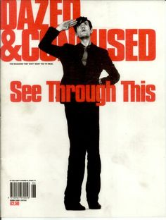 Jarvis Cocker on the cover of Dazed & Confused Pulp Band, Lili Taylor, Jarvis Cocker, Band Posters, Room Posters, Music Posters, Damon Albarn, Common People, Homeless Man