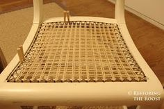 Chair caning tutorial