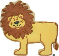 Lion Cookie Cutter from copper gifts.com;see more decorating ideas