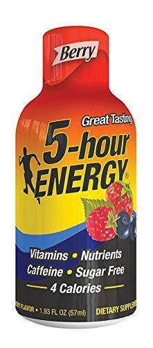 5-hour Engery*ENERGIE*DRINKS,ZUCKERFREI*6x57 ml*POWERDRINKS*USA*ENERGIE*MUNTERMACHER*SHOTS*MUNTERMACHER*SOFORT LIEFERBAR*BERRY*