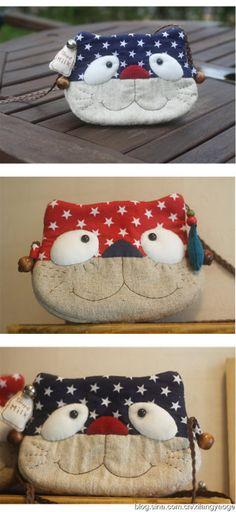 small cat bag