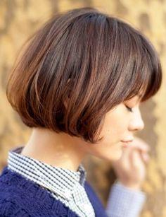 外人風ガーリーボブ   BEAUTRIUM GINZA(ビュートリアム)のヘアスタイル・髪型・ヘアカタログ - 美美美コム