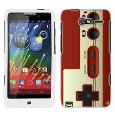 Motorola Droid Razr M Red Retro Video Game Controller Gamepad Phone Case Cover $8.90