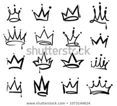 Tooth crown logo mural painting symbol black elements isolated beyond white . Tooth crown logo mural painting symbol black elements isolated beyond white background Graffiti Tattoo, Logo Graffiti, Graffiti Lettering Alphabet, Graffiti Kunst, Graffiti Doodles, Graffiti Tagging, Graffiti Artwork, Graffiti Drawing, Street Art Graffiti