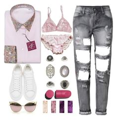 """""""Beautiful now"""" by mysecretismine ❤ liked on Polyvore featuring Alexander McQueen, Topshop, Chanel and MAC Cosmetics"""