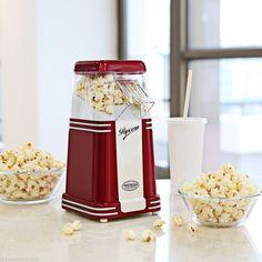Mini Popper Corn Hot Air Popcorn Maker Cart Popper Machine Kitchen Appliance UK | eBay