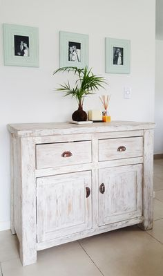 Salvaged Furniture, Chalk Paint Furniture, Furniture Restoration, Home Furniture, White Washed Furniture, Tumblr Room Decor, Interior Architecture, Interior Design, French Style Homes