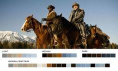 Django Unchained – Color Palette
