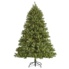 7.5' Pre-Lit Belvedere Spruce Artificial Christmas Tree - Clear LED Lights, http://www.amazon.com/dp/B013J761AS/ref=cm_sw_r_pi_awdm_MMqlwb157G5E0