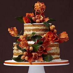 Naked Cake!! By The King Cake