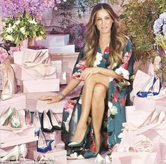Style icon Sarah Jessica Parker is making the big day dreams of Sex And The City fans a reality, with her new Carrie Bradshaw inspired wedding shoe range SJP Collection: Bridal