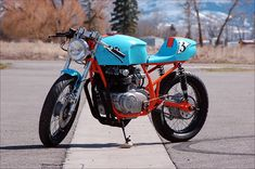 "1975 Honda CB550K - ""Le MansSpecial"" - Pipeburn - Purveyors of Classic Motorcycles, Cafe Racers & Custom motorbikes"