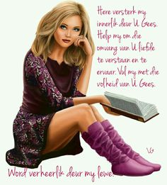 Afrikaanse Quotes, Prayer Verses, Strong Quotes, God Is Good, Christian Quotes, Qoutes, Pin Up, Words, Daughters