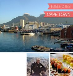 Cape Town, South Africa, and Sushi from Willoughby's & Co., with Mary from The Good Food Quest