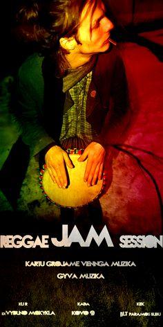 Reggae Jam Session Poster