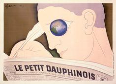Le Petit Dauphinois Vintage Poster (artist: Cappiello) France c. 1933
