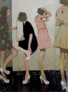 Graffiti Art Street Art / The flatiron / Mural in Toronto Contemporary Art - Michael Carson Kunst Online, Illustration Mode, Norman Rockwell, American Artists, Love Art, Oeuvre D'art, Art Inspo, Painting Inspiration, Style Inspiration