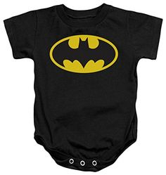 Infant Batman  Classic Logo Infant Onesie Size 6 Mos * You can find out more details at the link of the image.(It is Amazon affiliate link)
