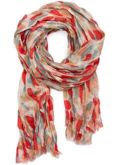 Pretty spring scarf