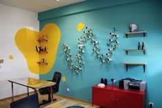 design Webshake Color and Personality: Webshake Office in Bucharest by Archinteriors