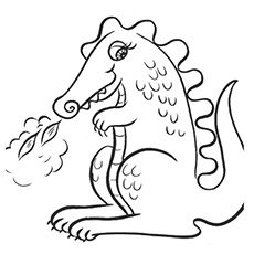 Kids get fascinated with magical things, like pirates, knights in shining armor, fairies & especially dragons. Find 25 free printable dragon coloring pages.