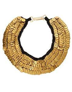 Sequin Collar Necklace