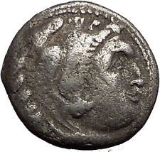 ALEXANDER III the GREAT 310BC Hercules Zeus Ancient Silver Greek Coin i55978