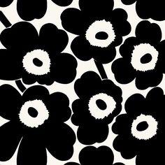 Marimekko Wallpaper, Marimekko Fabric, Pattern Wallpaper, Textile Pattern Design, Pattern Art, Print Patterns, Flower Background Wallpaper, Flower Backgrounds, Stencil Designs