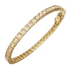 Diamond Tennis Gold Bracelet-Two wrist so I would two please.